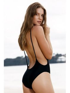 SHARE & Get it FREE | Monokini High Cut Backless One-Piece Swimwear - BlackFor Fashion Lovers only:80,000+ Items • New Arrivals Daily Join Zaful: Get YOUR $50 NOW!