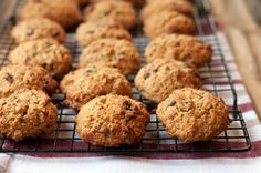 Quinoa Oatmeal Raisin Cookies, from The Quinoa Quookbook by Eliza Cross - Cooking With Michele®