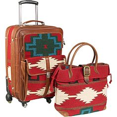 AmeriLeather Roamer 2 Piece Carry-on Luggage Set - eBags.com