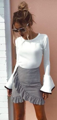 Amazing Summer Outfits Skirt Ideas 38