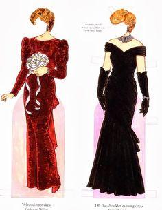 Bonecas de Papel: Princesa Diana
