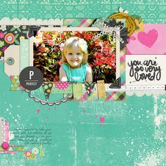 Gorgeous page by @Kellie Dyne Turner | Hello Growth Collection from Peppermint Creative