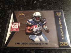 melvin gordon 2015 donruss elite insert #73 rookie rc san diego chargers from $0.39
