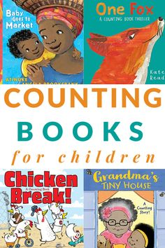 These 22 counting books for toddlers, preschoolers, and beginning readers are engaging, interesting, and educational reads that children will want to hear over and over again. Includes a printable booklist. Math Books, Preschool Books, Preschool Math, Kindergarten Learning, Best Toddler Books, Best Children Books, Childrens Books, Read Aloud Books, Good Books