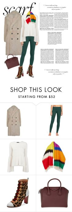 """Untitled #1019"" by rhaxkido ❤ liked on Polyvore featuring Joseph, Zella, The Row, Loewe, Christian Louboutin, Givenchy and BCBGMAXAZRIA"