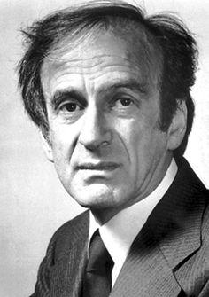 Elie Wiesel, 1986 Nobel Peace Prize Laureate and Holocaust Survivor Elie Wiesel, Night Trilogy, Alfred Nobel, Teaching Literature, Nobel Prize Winners, Survivor Quotes, Today In History
