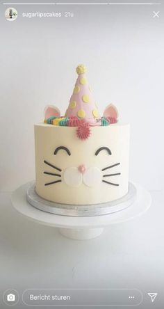 New birthday cake kids girls animals ideas #cake #birthday
