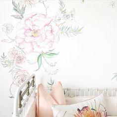 dibujos de flores para decorar paredes Flowers Pinterest