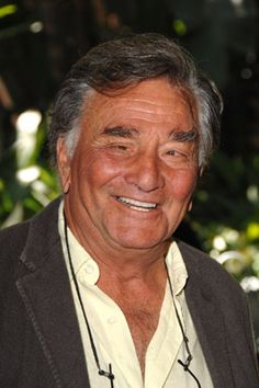 Peter Falk, Actor: Peter Michael Falk was born on September in New York City, New York. At the age of his right eye was surgically removed due to cancer. He graduated from Ossining High School, where he was president of his class. Columbo Peter Falk, Detective, The Great Race, Celebrities Then And Now, Famous Celebrities, Actor Studio, Old Movie Stars, Star Wars, Tv Episodes