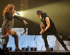 Rihanna performs during her '2013 Diamonds World Tour' at the BB&T Center. Featuring: Rihanna,Nuno Bettencourt. Where: Sunrise, Florida, United States. When: 20 Apr 2013.