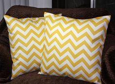 Would like to sew a couple Chevron pillowcases for the new master bedroom look. Probably in a mustard yellow or burnt orange.