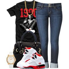 """#63"" by essencesimone on Polyvore cheap air jordan 5 only $60, save up to 59% off for all #Nikes #Shoes"