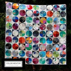 Dear Dottie Quilt Pattern — Stitched in Color Circle Quilts, Star Quilts, Mini Quilts, Quilt Block Patterns, Pattern Blocks, Quilt Blocks, Drunkards Path Quilt, Cross Quilt, Stitch