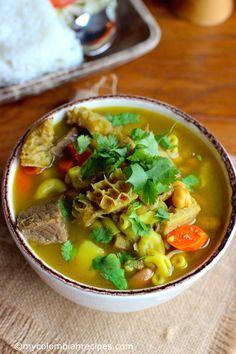 Colombian Mute Santandereano (Santander-Style Soup)