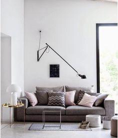 HM Home spring-collectie Home Decor Inspiration, Room Inspiration, Home And Living, Interior Design, House Interior, Flos, Home Living Room, Interior, Home Decor