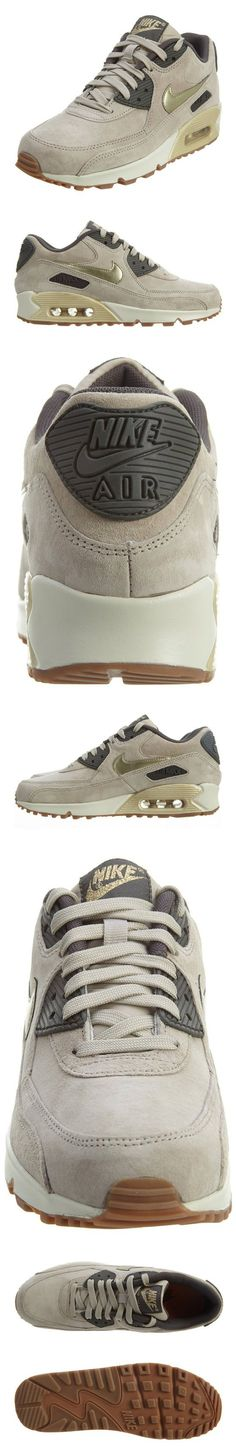$120 - Nike Air Max 90 Prm Suede Womens Style: 818598-200 Size: 7.5 #shoes #nike…