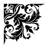 stencil designs | Stencil Motifs