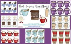 hot cocoa chocolate wh questions in speech language therapy
