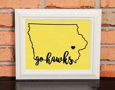 GO HAWKS! College Pride Wall Art - Iowa Artwork - Iowa Hawkeyes - Go Hawks - University of Iowa - Black and Old Gold - Man Cave Artwork - College Decor - UNFRAMED Poster Print - Chalkboard Finish. Looking for a fun piece of art for your dorm room, office or man cave? This is it! - GO HAWKS! College Pride Wall Art - Iowa Artwork - Iowa Hawkeyes - Go Hawks - University of Iowa - Black and Old Gold - Man Cave Artwork - College Decor - UNFRAMED Poster Print - Chalkboard Finish.