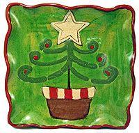 etta b- beautiful Christmas platter