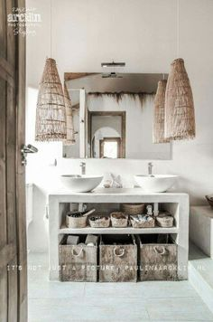 6 Thriving Cool Ideas: Natural Home Decor Rustic Master Bath natural home decor earth tones design seeds.All Natural Home Decor Ceilings natural home decor bathroom master bath.Natural Home Decor Rustic Master Bath. Bad Inspiration, Bathroom Inspiration, Inspiration Boards, Bathroom Interior Design, Home Interior, Ibiza Style Interior, Interior Colors, Interior Ideas, Style At Home