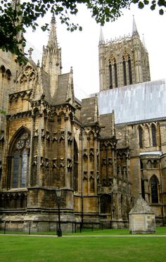 Lincoln Cathedral, England, UK.                                                                                                                                                     More