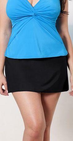Miraclesuit Women's Swim Skirt Black Miraclesuit. $78.00