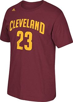 e1a974310 NBA Cleveland Cavaliers LeBron James Men s 7 Series Name   Number Short  Sleeve Tee