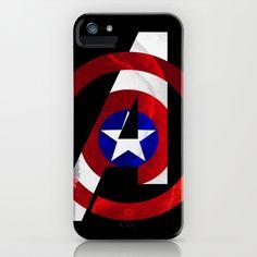 Captain America Avengers iPhone & iPod Case
