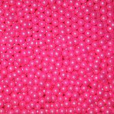 Candy Bead Pearls Shimmer Bright Pink www.candypros.com