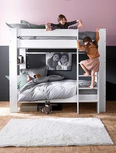 etagenbett beni mit leiter 90 x 200 cm ein kleines reich pinterest - Hausgemachte Etagenbetten Bilder