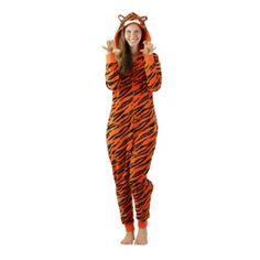 Pigiama intero donna Tigre-Animali selvatici-20