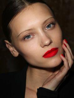 NARS, heat wave lipstick--my fav!