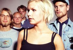 The Cardigans...after their show and at a private party
