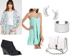 Class to Night Out: Kimono Cardigan - College Fashion