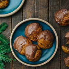 Chocolate Almond Drop Cookies | Naturally Ella