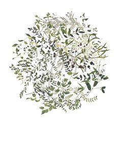 Folk Greens Redux by Katrin Coetzer