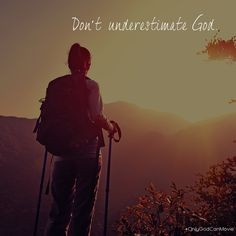 """When we lose one blessing, another is often most unexpectedly given in its place."" – C. S. Lewis. Don't underestimate God"