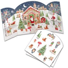 ADV34 Santa's House available at https://www.phoenix-trading.co.uk/web/kphillips