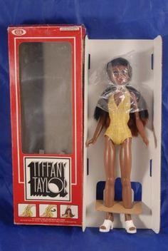 Ideal AA Tiffany Taylor Doll + Orig Box Vintage 1974 African American Black   eBay