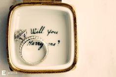 okay put this ring in the cupcake and there's NO way I could say no <3
