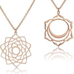 Gemstone pendant multi use colours pendants by tiny om beautiful handmade rose gold chakra pendants by tiny om perfect for a yoga girl mozeypictures Images