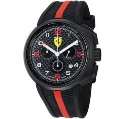 Ferrari F1 Fast Lap Men's Black PVD Chronograph Watch FE-10-IPB-CG-FC Ferrari. Save 55 Off!. $444.99