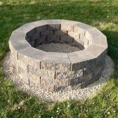 Do it yourself fire pit....I think I might try thi