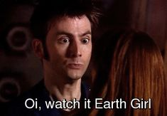10th doctor funny gifs | doctor who David Tennant Tenth Doctor jenna-louise coleman clara oswin ...