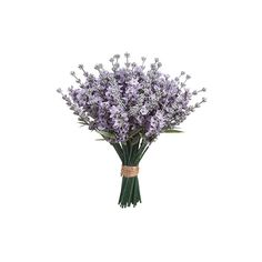 Artificial Lavender Bouquet | Silk Artificial Flowers | Afloral.com ($35) ❤ liked on Polyvore featuring home, home decor, floral decor, fake flowers, faux floral, artificial floral arrangement, silk floral arrangement and artificial flowers