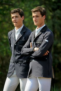 Olivier and Nicola Philippaerts are Show jumpers from Belgium.... They are perfection!!