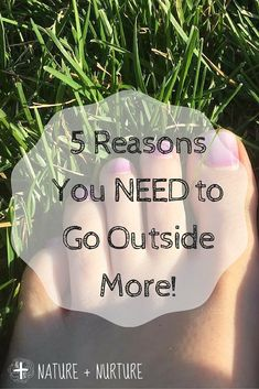 Go outside! The data says that people who spend more time outdoors are healthier. Find out why!