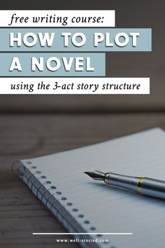 Behind every good story is a solid structure. That's a fact. So why, then, do so many writers shy away from using story structure when they're plotting their stories? In this free e-course, I'll walk you step-by-step through the 3-Act Story Structure — and give you a solid template to move forward with your own story!
