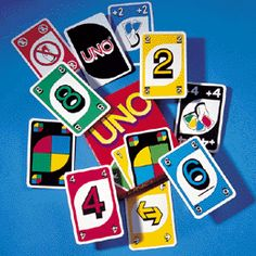 """Call me nerdy, but my friends and I would have """"card parties"""" on the weekends where Spaz Uno was Dice Games, Fun Games, What To Do When Bored, Pool Games, Got Game, Girls Camp, Card Games, Game Cards, Activity Days"""